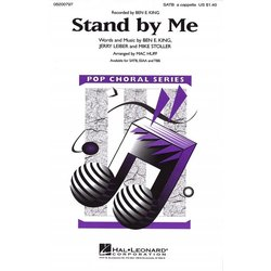 Stand By Me (Ben E King), SATB Parts