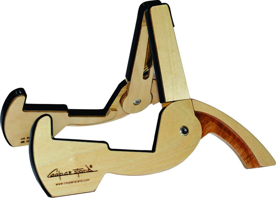 View larger image of Cooperstand Pro-GB Guitar Stand - Birch