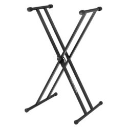 Stand Keyboard Jam Stands JS-502D X-Style Double Braced Blac