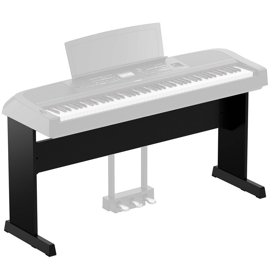 View larger image of Yamaha L-300B Stand for DGX670 Digital Piano - Black