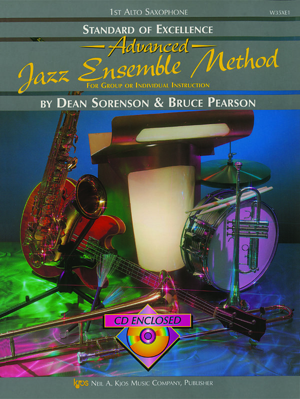 View larger image of Standard of Excellence Advanced Jazz Ensemble Method with CD - Alto Saxophone 1