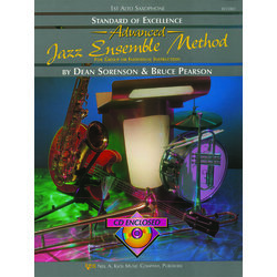 Standard of Excellence Advanced Jazz Ensemble Method with CD - Alto Saxophone 1