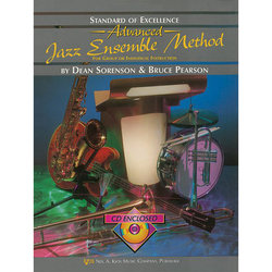 Standard of Excellence Advanced Jazz Ensemble Method with CD - Aux Percussion