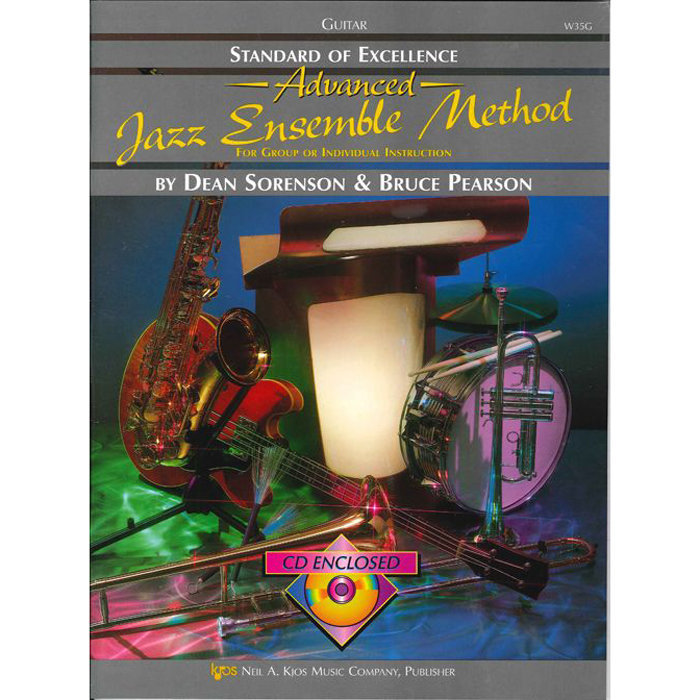 View larger image of Standard of Excellence Advanced Jazz Ensemble Method with CD - Bass Guitar