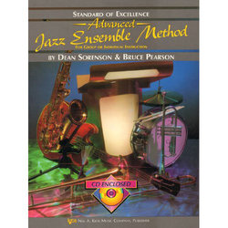 Standard of Excellence Advanced Jazz Ensemble Method with CD - Flute