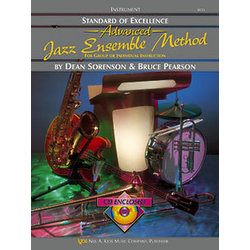Standard of Excellence Advanced Jazz Ensemble Method with CD - Tenor Sax 1