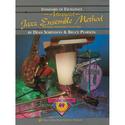 Standard of Excellence Advanced Jazz Ensemble Method with CD - Tenor Saxophone 2