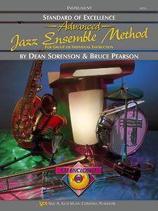View larger image of Standard of Excellence Advanced Jazz Ensemble Method with CD - Trumpet 3