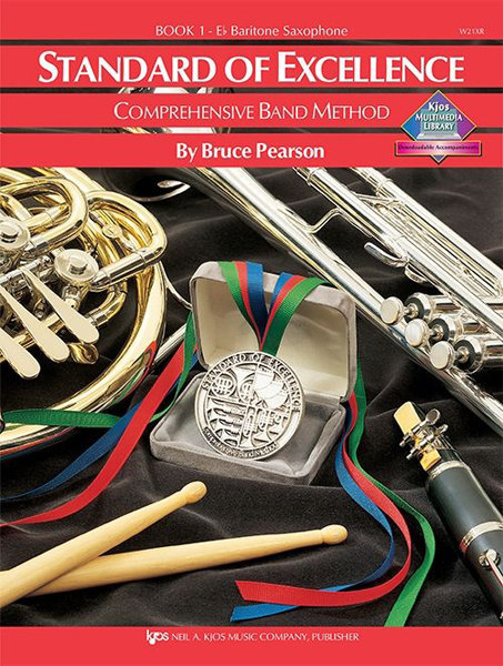 View larger image of Standard of Excellence Book 1 - Baritone Saxophone