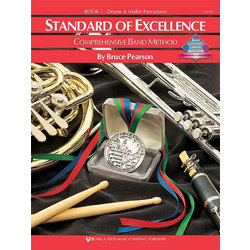 Standard of Excellence Book 1 - Drums and Mallet Percussion