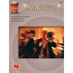 Standards - Big Band Play-Along Volume 7 - Bass w/CD