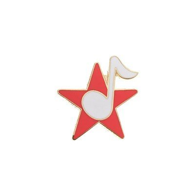 View larger image of Star Pin with Music note