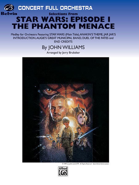 View larger image of Star Wars: Episode I The Phantom Menace - Selections, Score & Parts, Grade 3.5