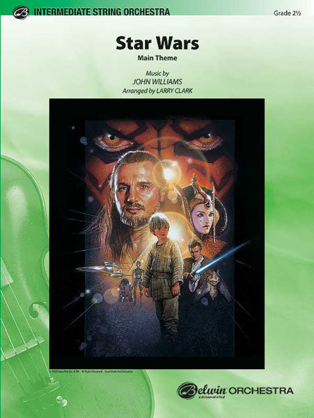View larger image of Star Wars (Main Theme) - Score & Parts, Grade 2.5