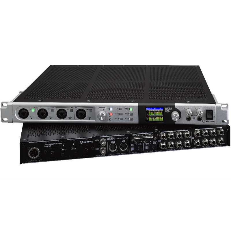 View larger image of Steinberg AXR4T Thunderbolt Audio Interface