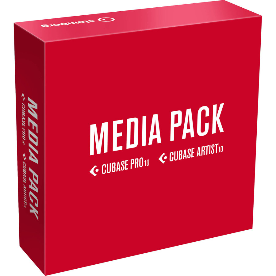 View larger image of Steinberg Cubase Pro/Artist 10 Media Pack