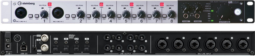 View larger image of Steinberg UR824 8x8 USB 2.0 Audio Interface