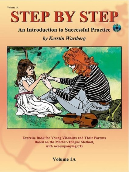 View larger image of Step by Step 1A: An Introduction to Successful Practice for Violin w/CD