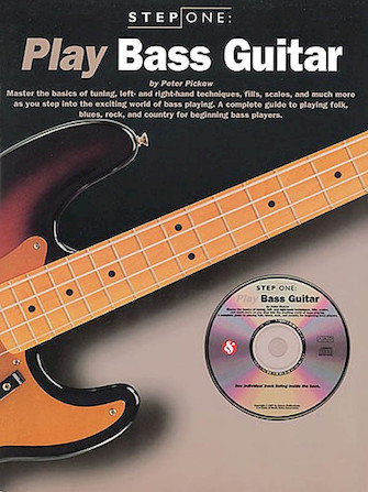 View larger image of Step One: Play Bass Guitar w/CD