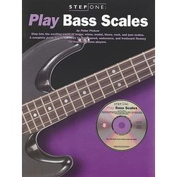 Step One Play Bass Scales wCD