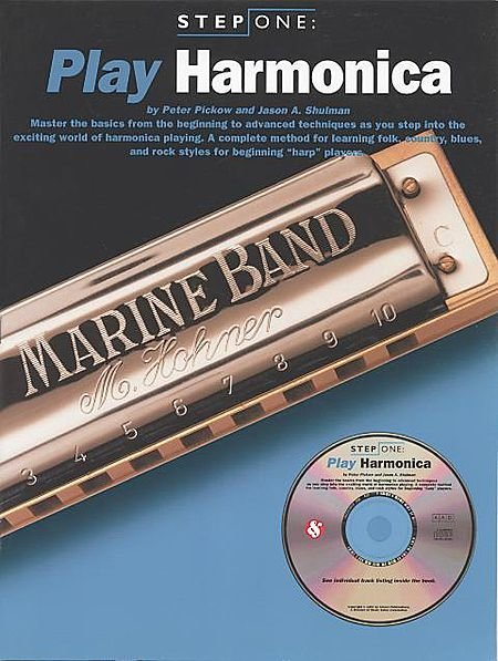 View larger image of Step One: Play Harmonica w/CD