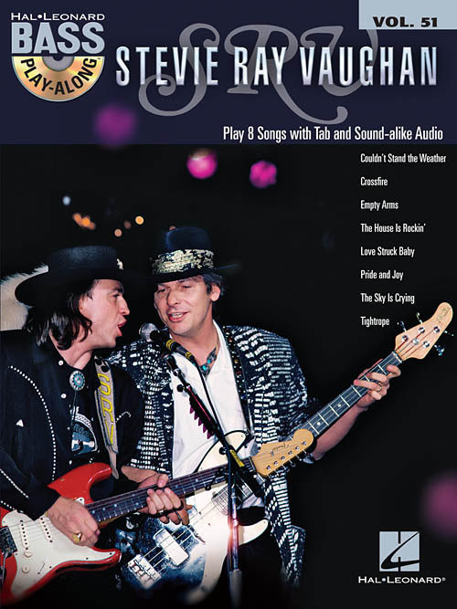 View larger image of Stevie Ray Vaughan - Bass Play-Along Volume 51 w/CD
