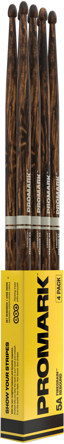 View larger image of ProMark Rebound Drumsticks - 5A, Acorn, 4 Pack