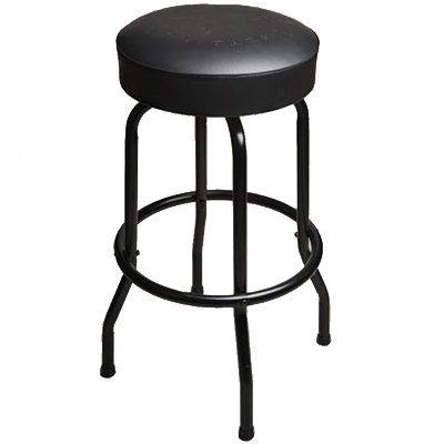 """View larger image of Taylor Deluxe Bar Stool - Black, 30"""""""