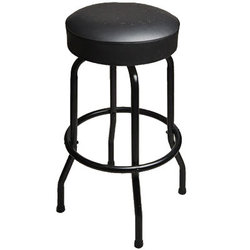 Taylor Deluxe Bar Stool - Black, 30""