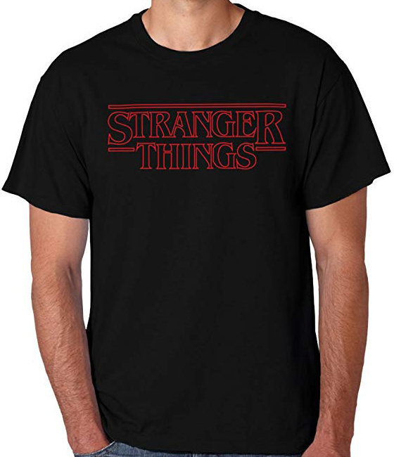 View larger image of Stranger Things Red Logo T-Shirt - Men's Small