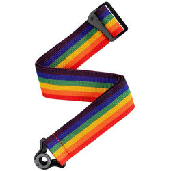 Planet Waves Auto Lock Polypro Guitar Strap - Rainbow