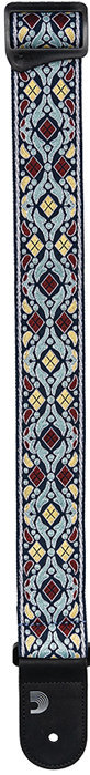 View larger image of Planet Waves Eco Comfort Jacquard Guitar Strap - Navy
