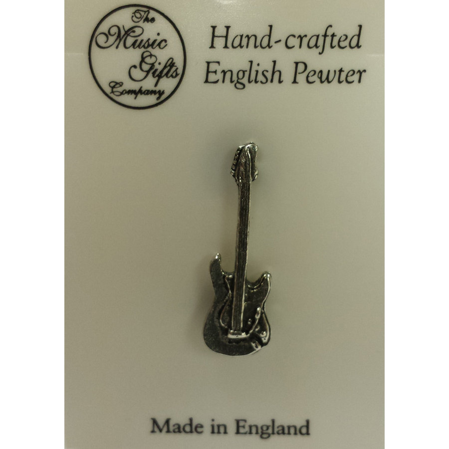 View larger image of Stratocaster Guitar Pin - Pewter