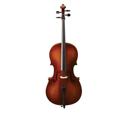 View larger image of Stratus by Eastman SVC83 Cello Outfit - 1/2, Wheeled Case