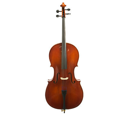 View larger image of Stratus by Eastman SVC93 Cello Outfit - 1/8, Deluxe Bag