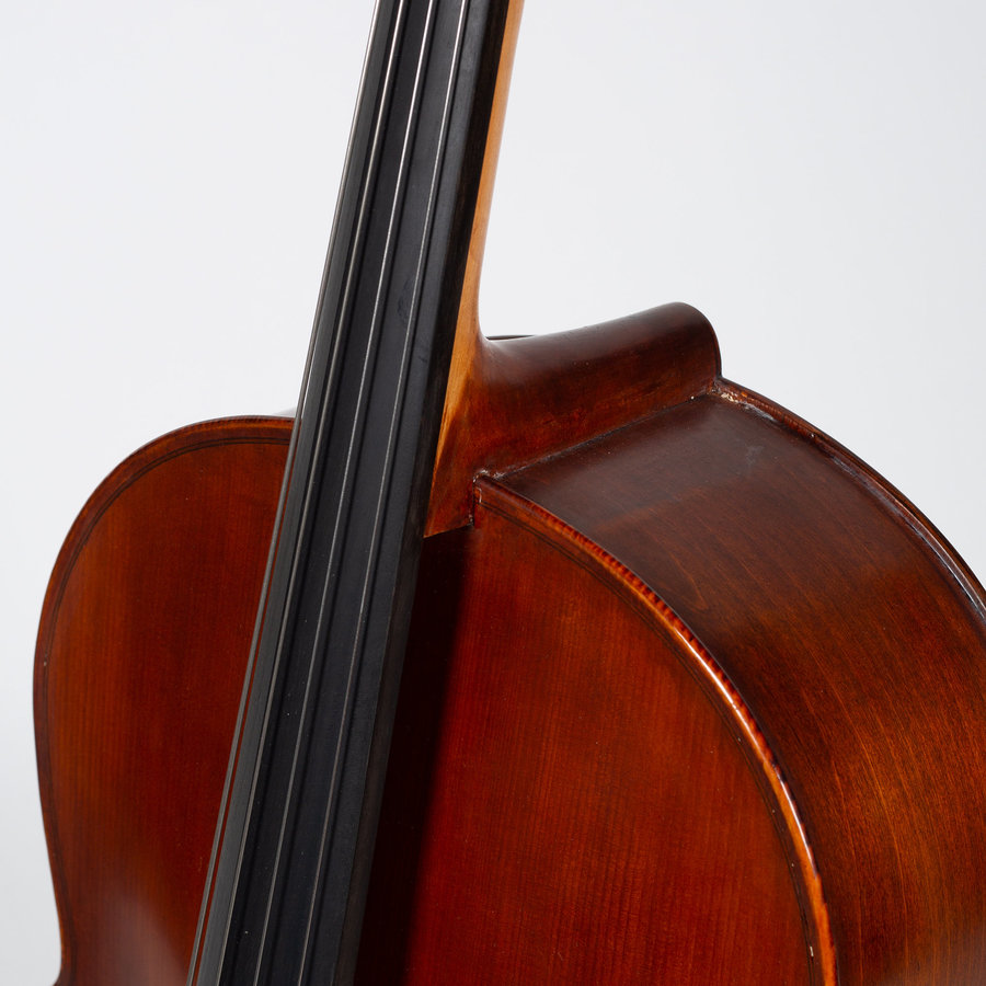 View larger image of Stratus by Eastman SVC98 Cello Outfit - 1/2, Deluxe Bag