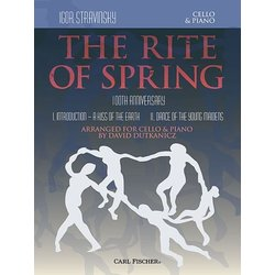 Stravinsky Rite of Spring Sheet Music for Cello and Piano