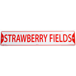 Strawberry Fields Street Sign