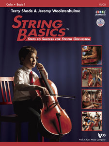View larger image of String Basics Book 1 with DVD - Cello