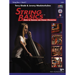 String Basics Book 2 with DVD - Double Bass