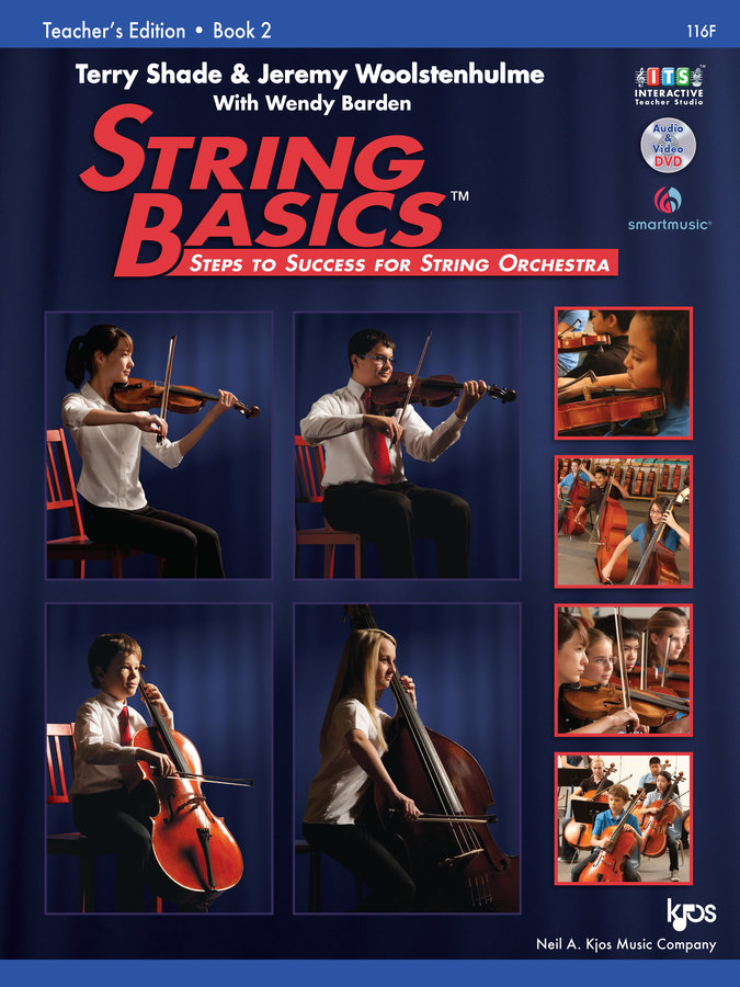 View larger image of String Basics Book 2 with DVD - Teacher's Edition