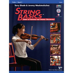 String Basics Book 2 with DVD - Violin