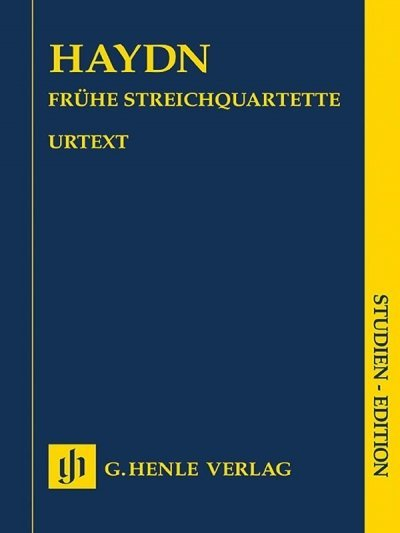 View larger image of String Quartets - Volume 1 (Early String Quartets/Haydn Study Score)