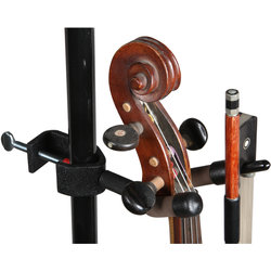 String Swing Mic / Music Stand Violin Hanger