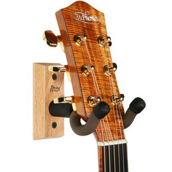 String Swing Narrow Neck Guitar Holder - Oak