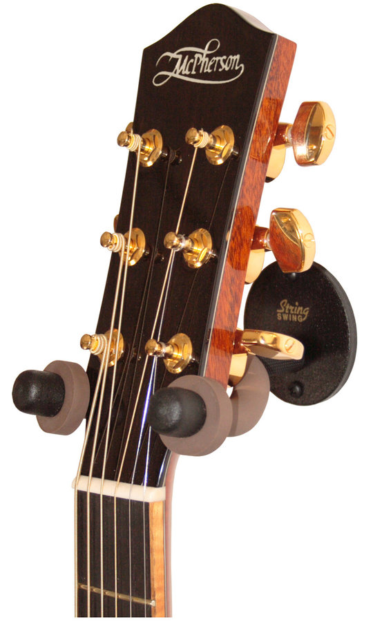 View larger image of String Swing Stage Plate Guitar Hanger