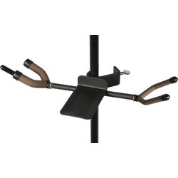 String Swing Twin Violin & Ukulele/Mandolin Hanger for Mic/Music Stand