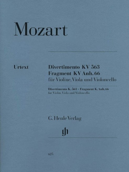 View larger image of String Trio E Flat Major K.563 - (Mozart)
