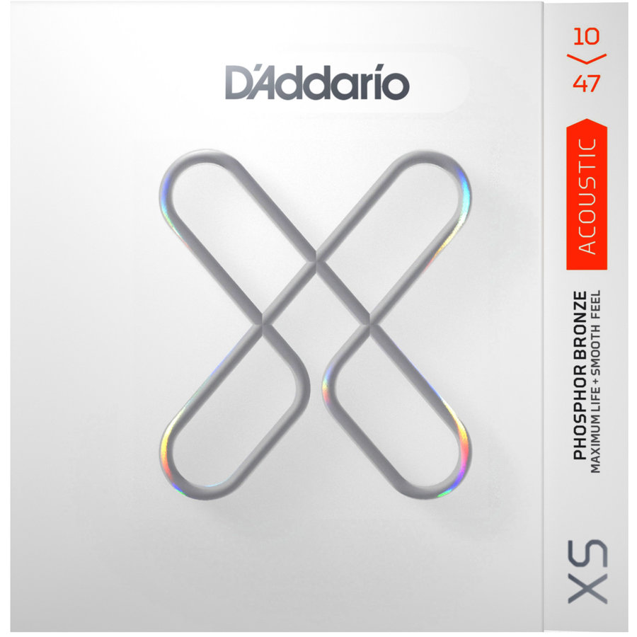 View larger image of D'Addario XS Phosphor Bronze Acoustic Guitar Strings - Extra Light, 10-47