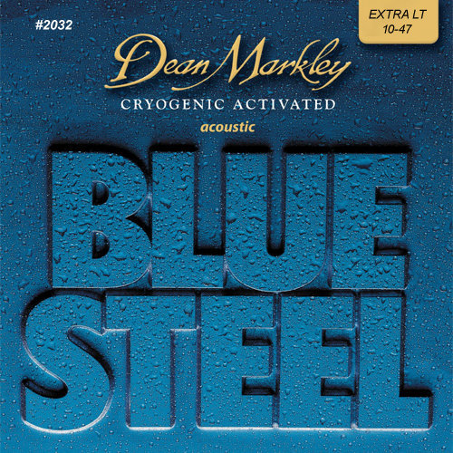 View larger image of Dean Markley Blue Steel Acoustic Strings - Extra Light, 10-47